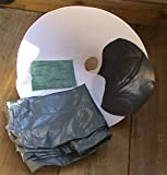 Self watering Hanging basket liner kit, Fit to your own standard 14' dome basket and creates a substantial water reservoir..no more water running off the top as your new watering is from below, Magic...half the compost required,... twice the water available, half the effort of a similar sized standard basket.