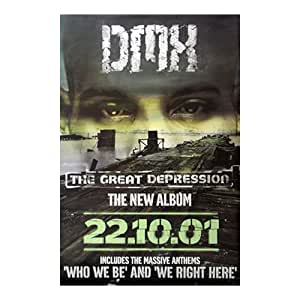 DMX - Poster The Great Depression