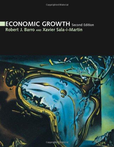 Economic Growth (Mit Press) Xavier University