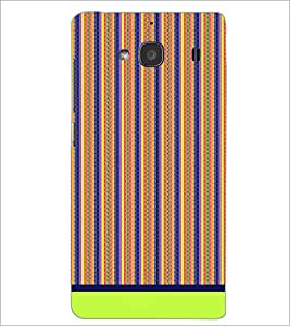 XIAOMI REDMI 2S PATTERN Designer Back Cover Case By PRINTSWAG