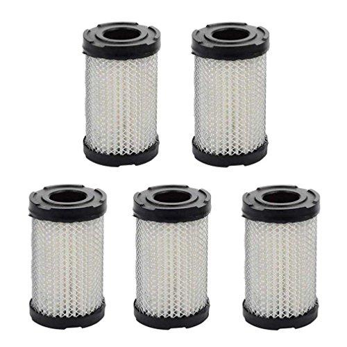 Preisvergleich Produktbild AISEN 5 x Luftfilter für Tecumseh Rasenmäher 3, 5-4 PS ECV TVS H35 35066 / Wolf 23410051