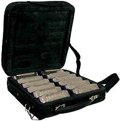 Jambone JHM-520 12S - Set de armónica, color negro
