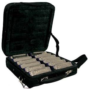 Jambone JHM-520 12S Set d'Harmonica Noir