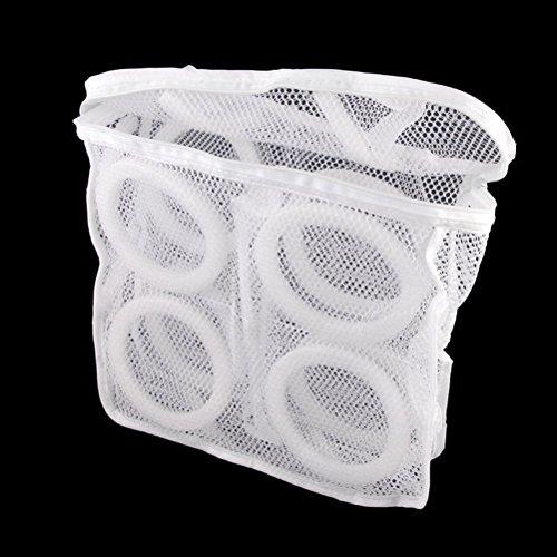 Pixnor Mesh Sneaker Tennis Schuhe Wäschesack (weiß) - Mesh-tennis-schuhe