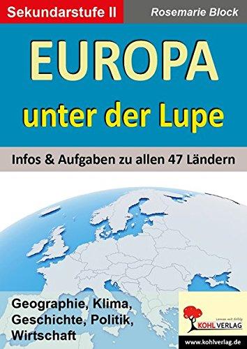 Europa unter der Lupe: Infos & Aufgaben zu allen 47 Ländern