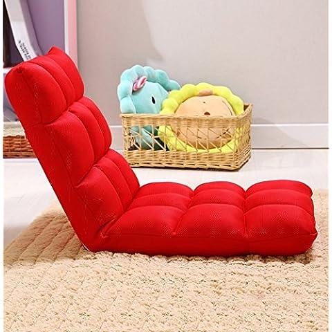 Sofà pigro unico piano pieghevole divano-letto Poltrona reclinabile Floating Window Chair Sedia pigra (22 tipi di stili) ( stile : D )