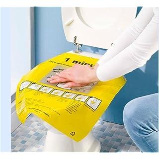 aucun Bee 400165Toiletten-Abflussreiniger, Schnelles Entleeren und Reinigen für WCs, Kunststoff, Gelb,40 x 47cm,2 Stück