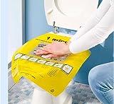 BEE 400165 Deboucheur Toilette Rapide | Dégorgement et Débouchage Wc Lot de 2, Plastique, Jaune, 6 x 3 x 4 cm