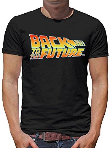 k in die Zukunft Logo T-Shirt Herren XXXL Schwarz ()