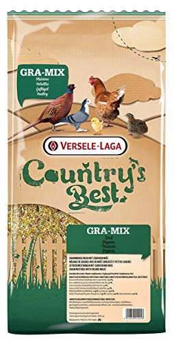 Versele Laga Country Best gra-Mix (sier) duif gebroken mais 4 KG -