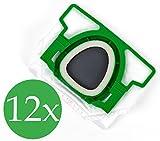 Double Premium Pack 2x 6sacs aspirateur pour Vorwerk Kobold VK 200