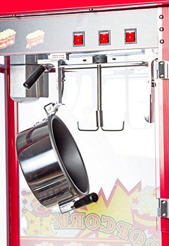 Popcornmaschine mit Wagen, 2-teilig