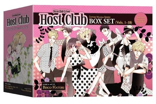 Fr-box (OURAN HIGH SCHOOL HOST CLUB GN BOX SET)