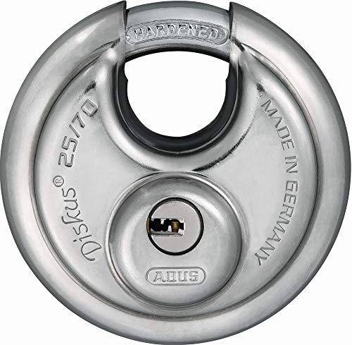 Fort Knox 77028/70/mm Diskus gleichschliessend Vorh/ängeschl/össer/ /Silber 2-teilig