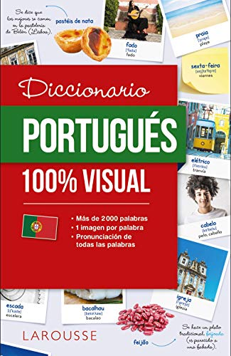 Diccionario de portugués 100% Visual (Larousse - Diccionarios Visuales) por Larousse Editorial