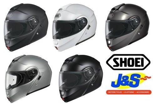 SHOEI NEOTEC FLIP FRONT MOTORCYCLE HELMET MODULAR MOTORBIKE TOURING INNER VISOR J&S (LARGE, ANTHRACITE)