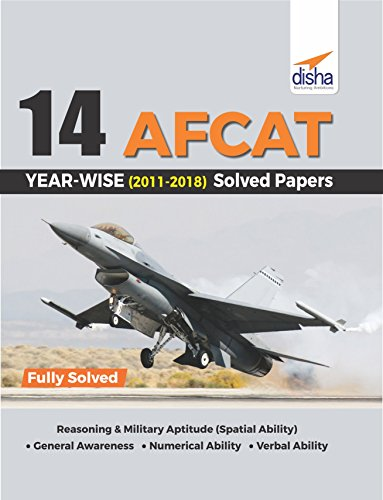 14 AFCAT Year-wise (2011-18) Solved Papers
