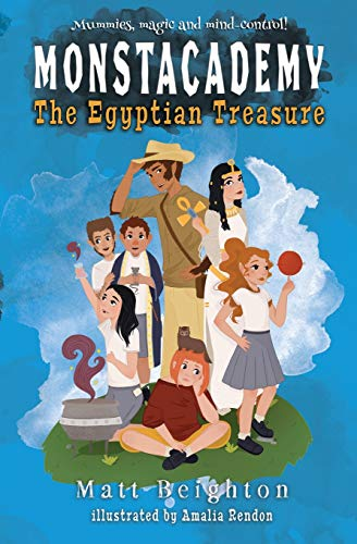 The Egyptian Treasure (Monstacademy, Band 2)