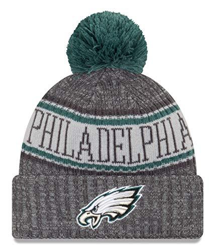New Era NFL Philadelphia Eagles 2018 Sideline Graphite Sport Knit