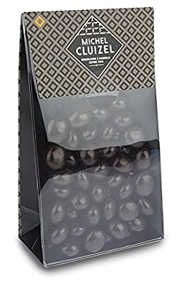 Michel Cluizel Dark chocolate coated coffee beans from Chocolate Trading Company