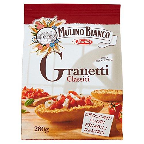 Mulino Bianco Crostini Granetti Classici,  Snack Salato per la Merenda, 280