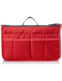Electomania® Multi Pocket Handbag Organizer for Easy Travel Bag Switching (Red)