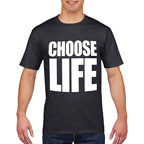 Black or White George Michael Choose Life T-shirt