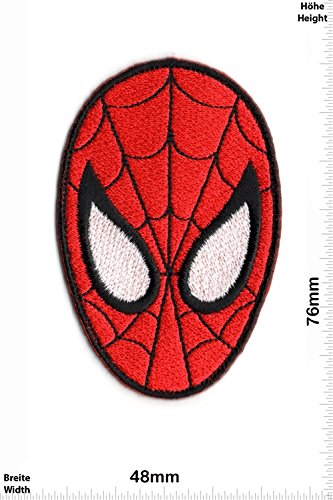 Parches   Spider Man   Head  Cartoon   Spider