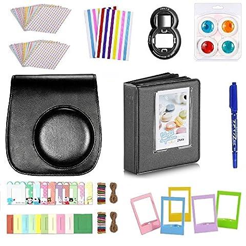 FollowSun 10 en 1 Kit d'Accessoires Pour Appareils photo instantané