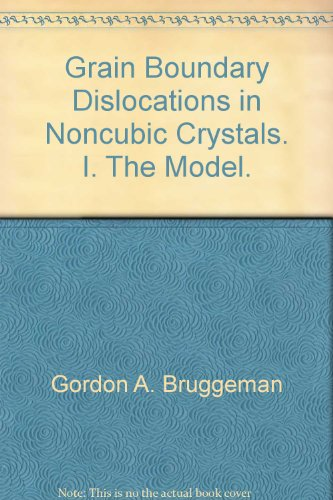 Grain Boundary Dislocations in Noncubic Crystals. I. The Model.
