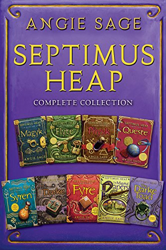 Septimus Heap Complete Collection: Books One Through Seven Plus The Magykal Papers and The Darke Toad (English Edition) -