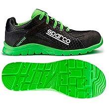 Sparco S0751745NRVF 0751745NRVF, Black/Green, 45
