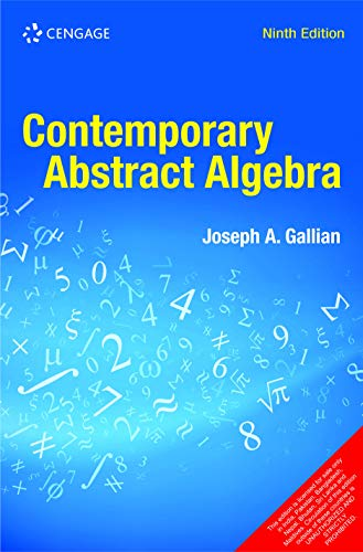 Contemporary Abstract Algebra, 9E
