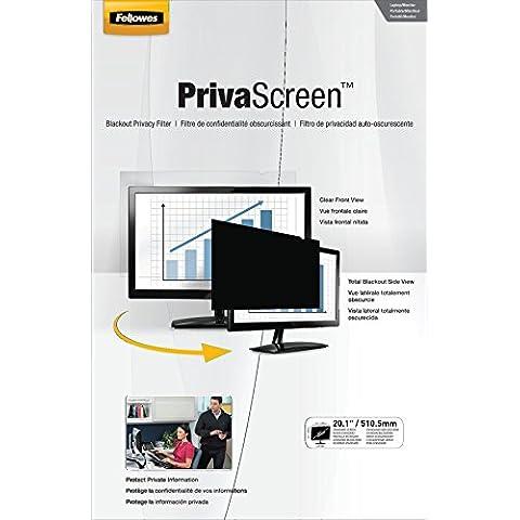 Fellowes PrivaScreen - Filtro de privacidad para pantalla panorámica de monitor de 20.1