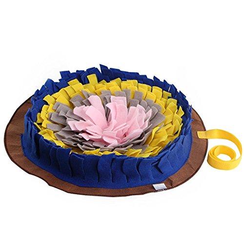 Easy-topbuy Haustier Schnüffelmatte Hund Round Pet Sni… | 00677568413261
