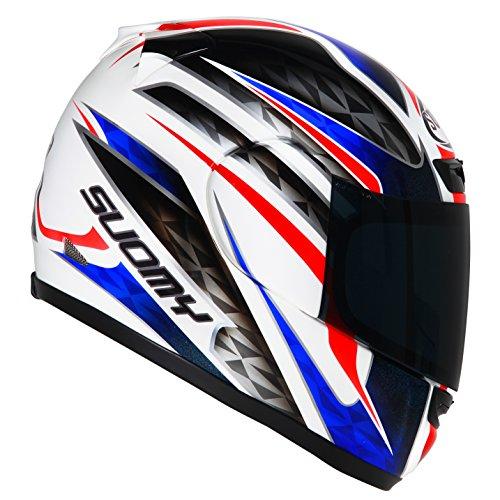 Suomy Motorradhelm Apex Frankreich, Mehrfarbig, M (Bell Solar Helm)