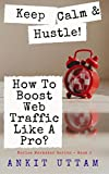 Keep Calm and Hustle! How To Boost Web Traffic Like A Pro?: A Guide To Create Viral Content, Build Traffic, And Turn Your Blogging Passion Into Profit (Novice Marketer Series Book 2)