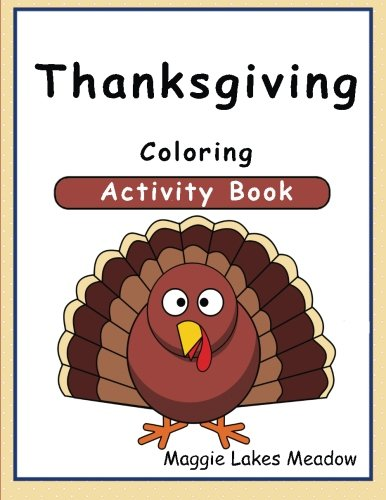 Thanksgiving Coloring Activity Book