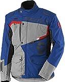 Scott Dualraid DP Motorrad Jacke grau/blau 2018: Größe: L (50/52)