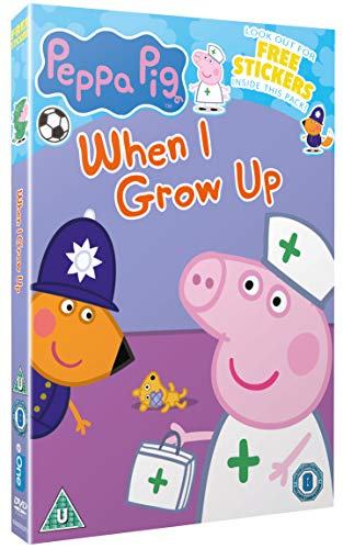 PEPPA PIG - WHEN I GROW UP DVD