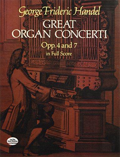 Great Organ Concerti: Opp. 4 and 7 in Full Score (Dover Music Scores)
