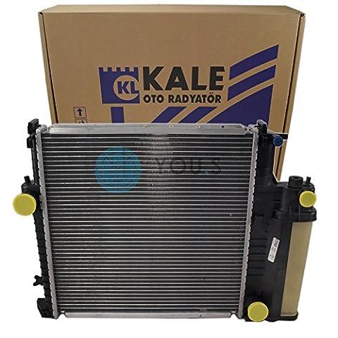 KALE Wasserkühler Motorkühlung Netzmaße: 437 x 437 x 32 mm