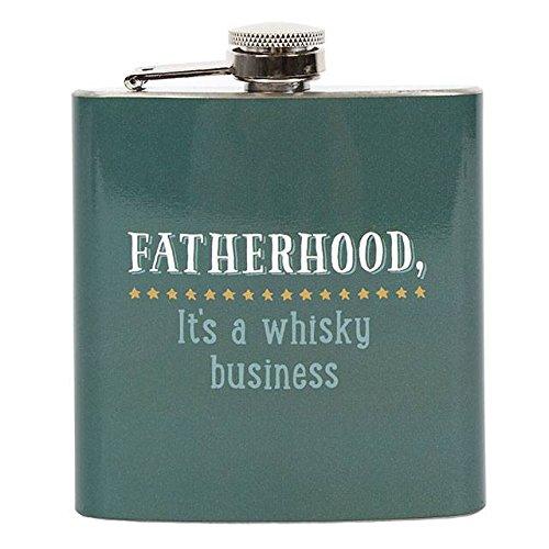 Vaterschaft Whisky Flachmann