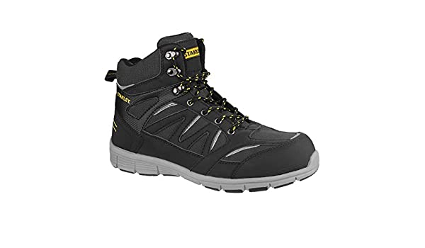 0953fad27da Stanley Mens Pulse S1 P Sports Lace Up Safety Boot (10 UK) (Black ...