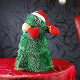 MostroMania - Albero di Natale Danzante con Musica - Decorazione Natalizia Animata - Addobbi di Natale Divertenti - Idee Regalo - Regali di Natale Originali