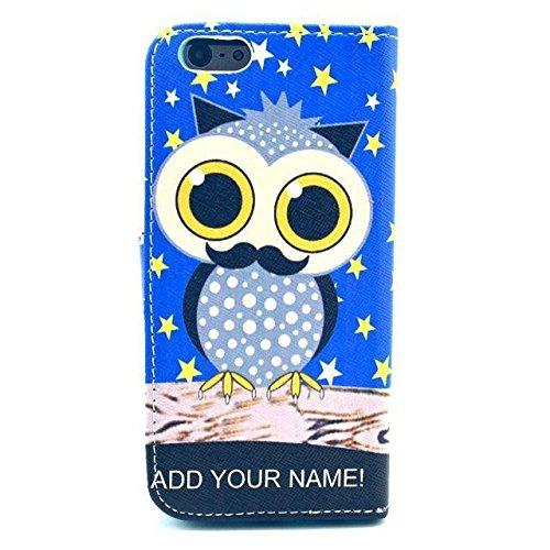 Monkey Cases® iPhone 6Plus 5,5pouces-Étui à rabat-Chouettes-Cover-Mat-Premium-Original-Nouveauté-# 7