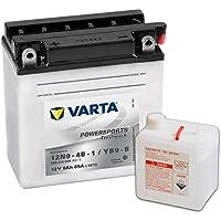 VARTA 549640 Powersports Freshpack Batterie de Moto, 12 V/9 Ah