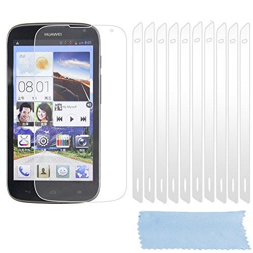 Preisvergleich Produktbild Cadorabo DE-102193 Displayschutzfolien für Huawei Ascend G610 10 Stück hochtransparenter Schutzfolien gegen Staub,  Schmutz und Kratzer High Klar