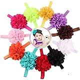 fdit 100Baby Stirnband, hohl Blumen Stirnband Haarband Tie Stretch Haar-Accessoires für Kinder baby-girl Kleinkinder