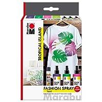 Marabu Fashion Spray Set - Tropical Island